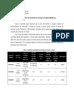Indice de Peroxido Mantecas y Mantequillas