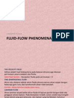 Fluid-flow Phenomena & Basic Equation