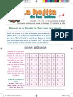 La Hojita de los Niños 03 10 17 24 de Noviembre 2019.pdf