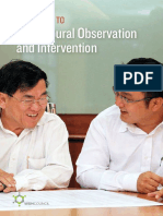 WSH Guide to Behavioural Observation Intervention