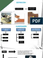 Caracteristicas y Tipologias de Los AGLOMERANTES