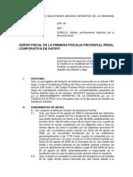 Modelo de Escrito Solicitando Archivo Definitivo de La Denuncia Fiscal