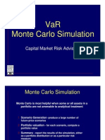 Var - Monte Carlo Simulation