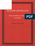 Hilary Putnam - Realism and Reason