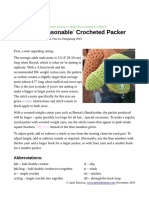 Perfectly Reasonable Crocheted Packer Dongalong 2019 -The Bobbin Tree