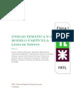 guia de ejercicios de  Estática de la FRTL