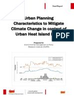 Urban Heat Island Effect Report