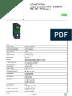 Altivar Process ATV600_ATV630U07N4