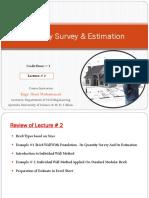 Quantity Survey _ Estimation (Lecture 3).pdf