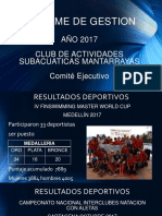 Informe de Gestion 2017