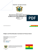 Religious and Moral Education b1 b6