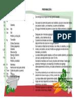Receta de Tamales Verdes