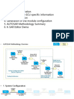 AUTOSAR Methodology Overview