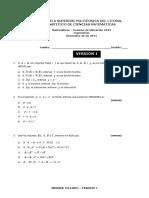 Mat Ing EXAMEN 1 V1