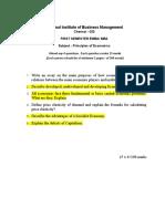Exm_32147 Principles Ofeconomics