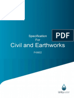 Civil and Earthworks Specs