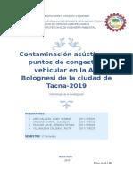 proyecto contaminacion acustica en la av bolognesi TACNA.doc