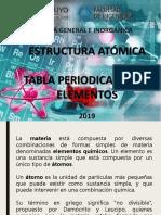 Estructura Atomica -Tabla Periodica 2019