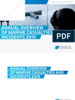 Annual Overview of Marine Casualties and Incidents 2019