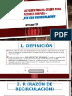 ANALISIS DE REACTORES IDEALES - RECIRCULACION.pptx