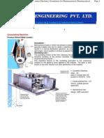 Granulating Machine, Granulators Granulator Machines, Granulators for Pharmaceutical, Pharmaceutical Injection Moulding Machines, Mumbai, India