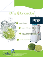 Dry Citrasate Part a Acid Concentrate Powder (5)