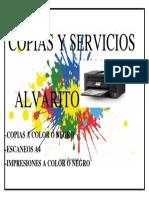 copias y servicios