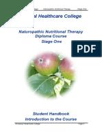 Student Handbook Stage One November 2013