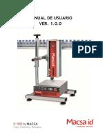 Manual de Usuario Macsa Id K-1000 Plus SHS v1.0.0