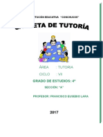 PLAN DE TUTORIA