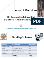 Theory of Machines-Lecture No.1 & 2