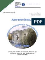 Oferta de Activitati 2019-2020