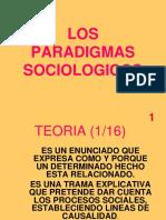 Los paradigmas sociológicos