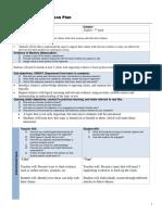 direct instruction lesson plan  homework