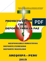 Proyecto Deporte Para Profesores
