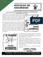 032-Las Improvisaciones Causan Accidentes