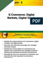 Chapter 8 - E-Commerce Digital Markets, Digital Goods