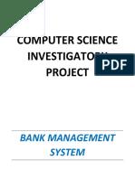 bank managment