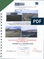 30 Volumen XI Evaluacion Tecnica  y Economica.pdf