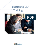 Intro to OSH Training