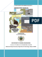 Practical Guidebook for Mining Geology