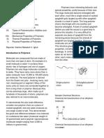 Chemlec Polymer Handouts