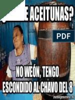 Vende Aceitunas 10 Weon Tengo Escondido Al Chavo Del8 Memegeneratodes NKQI9