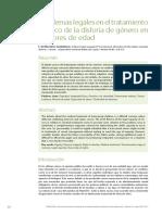 32-37-Problemas Legales en El Tratamiento Medico de La Disforia de Genero en Menores de Edad