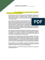 Resolución de Alcaldía Delegacion a Gernte Municipal Firma de Dj s100 y Fsu