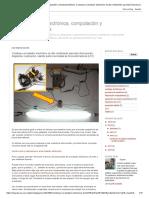 ¡Repáralo, Ya! Electrónica, Computación y Electrodomésticos_ Construye Un Balastro Electrónico de Alto Rendimiento Para Tubo Fluorescente, Diagrama y Explicacion, Usando Partes Recicladas de Focos Ahorradores (LFC)