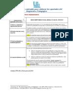 Descriptores p Elaborar El DX _UPN 304