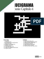 crucigrama genesis