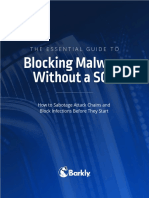 Essential Guide to Blocking Malware Without a Soc