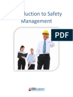 Intro to Safety Management